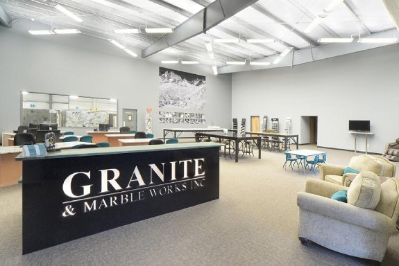 Granite and Marble Works welcome area
